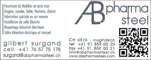 AB Pharmasteel Cugnasco